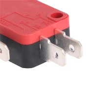 1x Micro Roller Lever Arm Limit Switch Kw7-2 Dengan Gagang Panjang