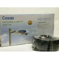 Antena TV luar outdoor tv digital COOCAA HD-001S FREE KABEL Antenna 20