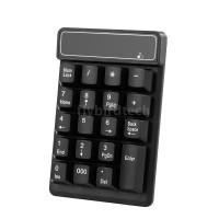 Keyboard Numerik Mekanik Wireless 2.4GHz dengan 19 Tombol + Receiver