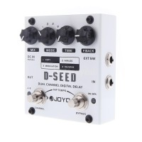 B & Y JOYO D-SEED Pedal Efek Gitar Digital Delay D-SEED Dual Channel