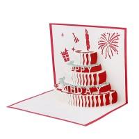 Kartu Ucapan Pop Up 3d Untuk Valentine Natal Dan Pernikahan