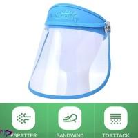 '' Topeng Pelindung Anti Virus Protective Transparent Face Masker HD