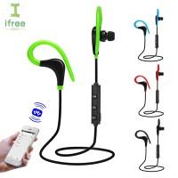 Earphone Bluetooth Wireless Universal untuk iPhone / Samsung