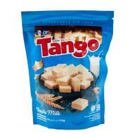 TANGO Wafer Renyah Rasa Susu Vanila 125 Gr - Kemasan Pouch