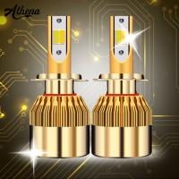 Athshima 285 2Pcs / Set Lampu LED C6 Super Day untuk Mobil