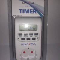 Kingstar Stop Kontak Timer Digital