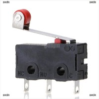 5Pcs / Set Micro Roller Lever Arm Switch kw12-3 PCB Microswitch