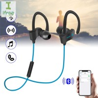 Earphone Wireless Bluetooth Stereo untuk iPhone / Samsung / Huawei
