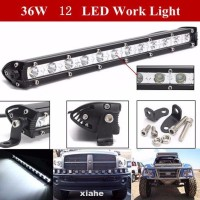 '' Bar Lamp Car Accessories Beam Led Off Road Truck Ultrathin Spot