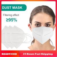 '' Kn95 Masker Pelindung Wajah Anti Debu/Kabut, Bisa Dipakai Ulang