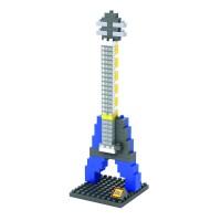 Mainan LOZ MEDIUM 9191 ELECTRIC GUITAR BLUE