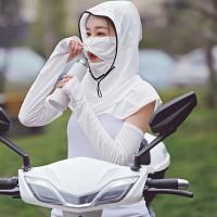 '' Masker Pelindung Wajah Dan Leher Anti Minyak Untuk Hiking ''