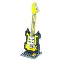Mainan LOZ MEDIUM 9193 ELECTRIC GUITAR YELLOW