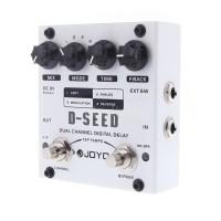 R & L JOYO D-SEED Pedal Efek Gitar Digital Delay D-SEED dengan 4