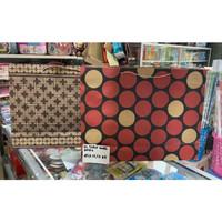 Paper Bag 45 x 12,5 x 35 cm / Paper Bag Tidur Motif Batik / Polkadot