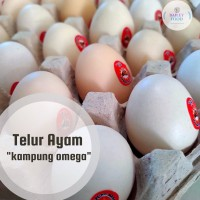 Telur Ayam Kampung Omega