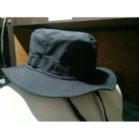 Topi Rimba Polos | Topi Pancing |Outdoor |Gunung