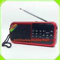 Speaker Bluetooth JOC H789BT Ori - Radio Senter LED FM Auto Repeat
