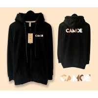 Jaket Camoe Premium Printed Signature Zipped Hoodie