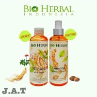 PAKET BIOHERBAL GINGSENG SHAMPOO & HAIR TONIC   BIO HERBAL