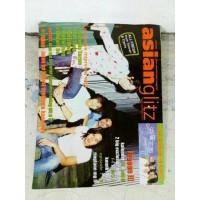 Majalah ASIAN GLITZ Lengkap Poster Besar F4