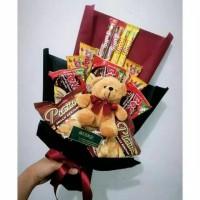 Buket Snack/ Snack Bouquet/ Buket boneka/ hadiah wisuda/ kado ultah/