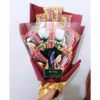 Buket Snack/ Snack bouquet/ hadiah wisuda/ kado ultah/ buket boneka