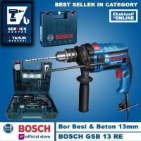 Bosch BOR Tangan GSB 13 RE 13 MM IMPACT DRILL dengan PERKAKAS 650 WATT