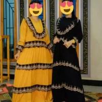 maxi dress arab/india/dubai/turki farida princess daster busui pesta