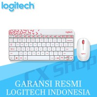Logitech MK240 Nano Wireless Combo Keyboard + Mouse (WHITE)