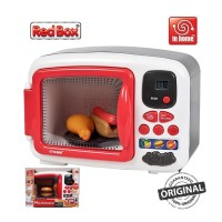 Red Box Toy in Home Electronic Microwave PlaySet Kitchen Masak Dapur