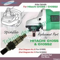 As Spindle Gerinda Tangan Hitachi G10SS / G10SS2 (Kw)