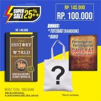 Super Sale Sejarah Ringkas Dunia Free Buku & Totebag