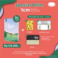 [Paket 1] 1CM Between You and Me by Kim Eun Ju