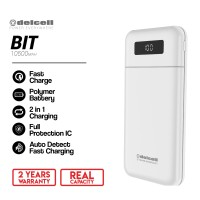 DELCELL BIT 10500mAh PowerBank (Digital Dislpay + Fast Charger 2.4A )