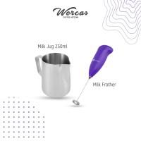Bundle 1 Alat Kopi Milk Jug 250ml Milk Frother Set