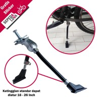 Kickstand atau Standar Sepeda United K-1628