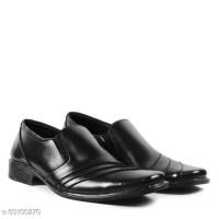 Sepatu Pria Fantofel Kerja Kantor Crocodile Paul Hitam Fashion Formal