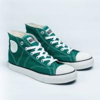 Sepatu Warrior Classic High - Green