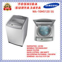 Mesin Cuci 1 tabung Samsung WA-10M5120 kaps.10 Kg
