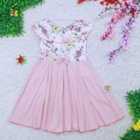 Dress Cantika uk 7-8 Tahun / Baju Pesta Anak Perempuan Yukensi Gaun
