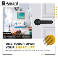 e-Guard Kunci Pintu Fingerprint digital Door Lock LG1664