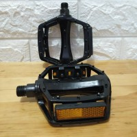 Pedal Sepeda Aluminium -JT410 Black