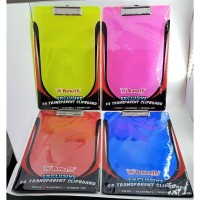 Clipboard Transparant F4 Butterfly