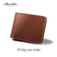 MARITIM (PRE-ORDER) Leuser Wallet - Dompet Pria Kulit Sapi Asli
