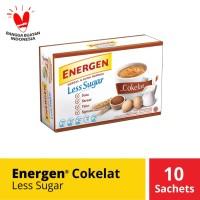 Energen Coklat Less Sugar10 sachet @20 gr