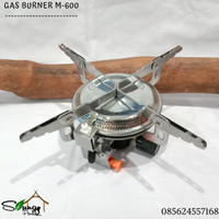 Kompor Camping Gas Burner M-600 Original Windproof not Bulin. Alocs