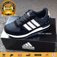Sepatu Adidas Neo City Racer-Grade Original-Black