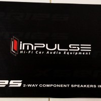 speaker impluse component 2way x series