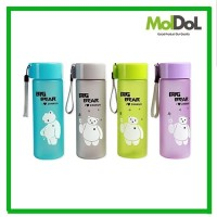Botol Minum Karakter BIG BEAR New Edition 550ml Botol Air Minum